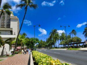 ハワイ町並み