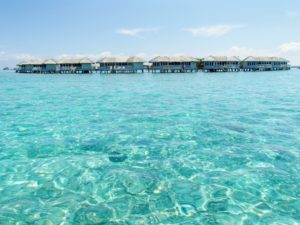 モルディブ水上コテージ